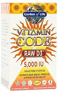 Garden of Life - Vitamin Code Raw D3 5000 IU by Garden of Life
