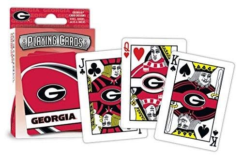 Cards Playing Ncaa - MasterPieces NCAA Georgia Bulldogs Playing Cards