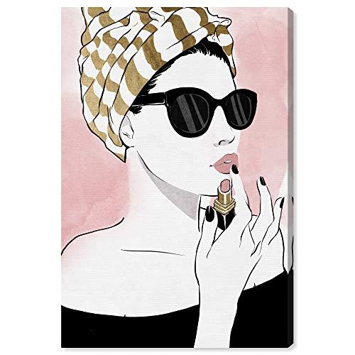 Wynwood Studio Fashion Wall Art Canvas Prints 'All Glammed Up Night Foil' Home Décor, 20