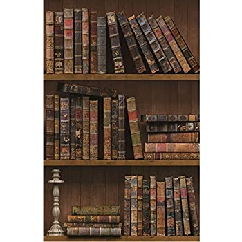 Library Bookcase Wallpaper LL29570 DOUBLE roll