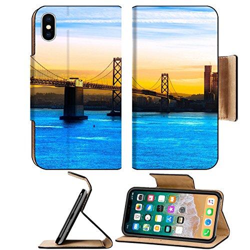 Msd Premium Apple Iphone X Flip Pu Leather Wallet Case Image Id  35315396 San Francisco Bay Bridge California Usa
