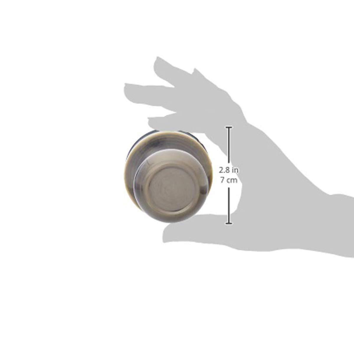 Coastal Satin Nickel Basics Passage Door Knob