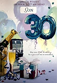 30Th Birthday Card Male Titles Nephew Husband Friend Brother Grandson Son