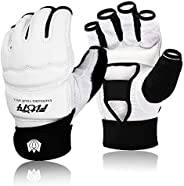 FitsT4 Half Mitts UFC MMA Training Boxing Punch Bag Kickboxing Sparring Grappling Martial Arts Muay Thai Taekw