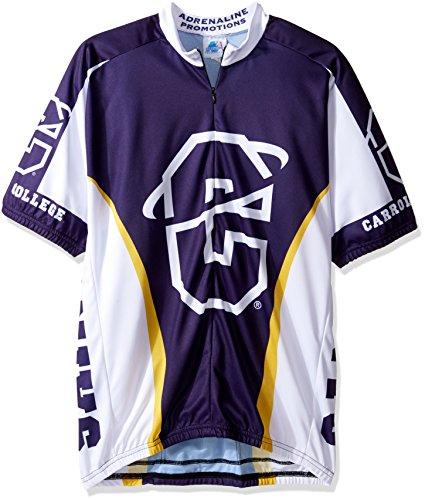 NCAA Carroll College Fighting Saints Cycling Jersey, Medium, Purple ()