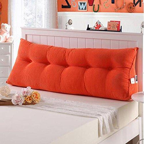 CX-PILLOW Cuscino, cuscini Triangolo, Letto grande cuscino, doppio pacchetto morbido letto, di nuovo Letto pad, il supporto lombare Cuscino Moda cuscino bello ( colore   B4 , dimensioni   1005022 )