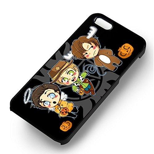 SPN Trick or Treat pour Coque Iphone 6 et Coque Iphone 6s Case (Noir Boîtier en plastique dur) B2J3LK