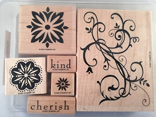 Stampin' Up! Baroque Motifs Wood Mounted Set of 6 by Stampin' Up