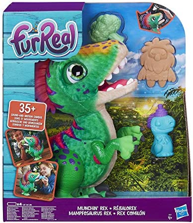 FurReal Friends E0387EU4 FurReal Mampfosaurus Rex, elektronisches Haustier