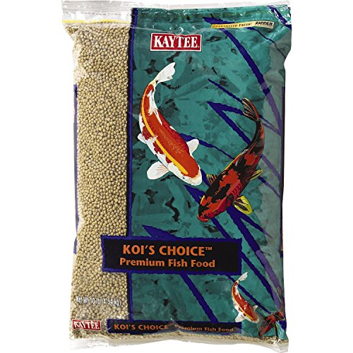 Kaytee Koi's Choice Premium Fish Food, 10-lb bag (Kaytee Formula)