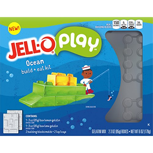 Price comparison product image JELL-O Play Build + Eat Ocean Kit,  6 oz