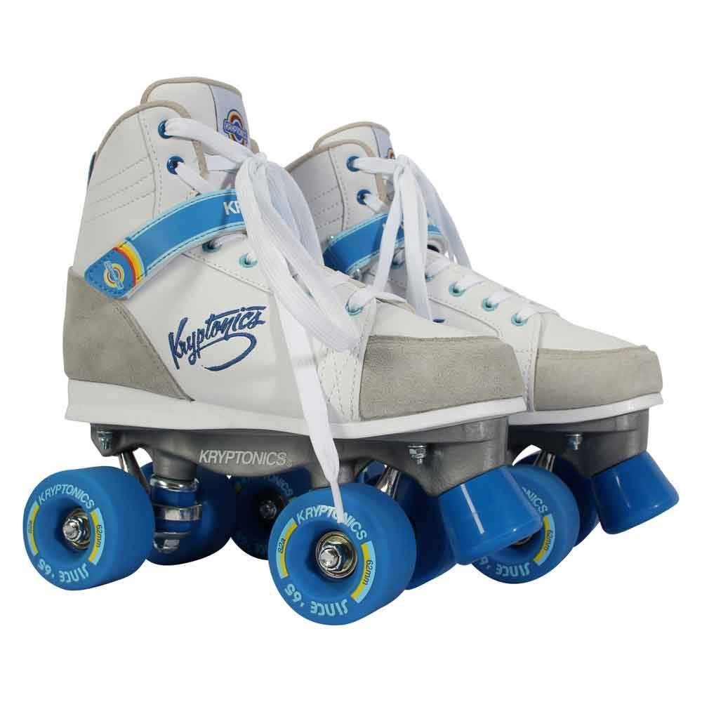 KRYPTONICS Roller Skates - Blitz White/Blue 62MM/82A (EU43-44 / US10-11)