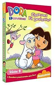 Dora l'exploratrice, Vol.8 : Chansons et devinettes