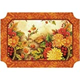 Autumn Awe Paper Placemats 50 Per Pack