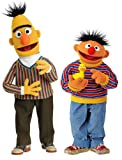 RoomMates RMK1478GM Sesame Street Bert and Ernie Peel & Stick Giant Wall Decals