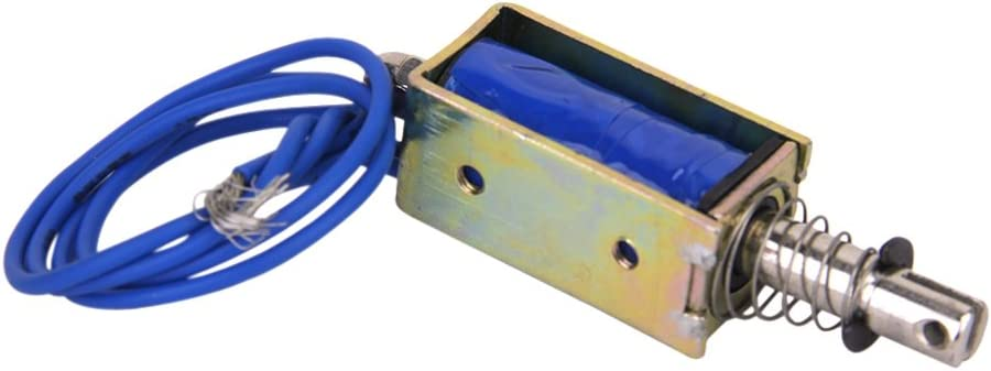 Dc 12v Push Pull Typ Öffnen Frame Solenoid Elektromagneten Zye 1 0530z Baumarkt