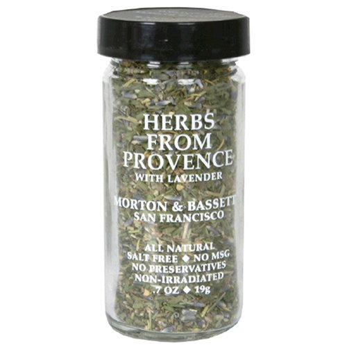 Morton & Bassett Herbs De Provence, .7-Ounce Jars (Pack of 3)