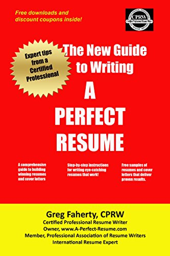 The New Guide To Writing A Perfect Resume Complete