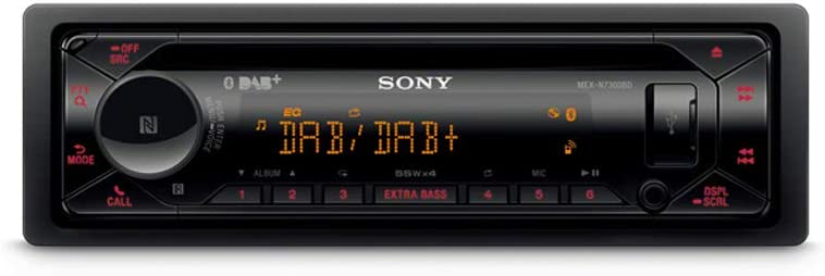 Sony Mex N7300bd Headunit Autoradio 1 Din Usb Bluetooth Dab Auto