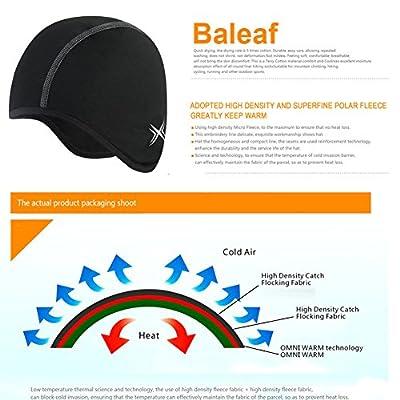 Baleaf Thermal Skull Cap Helmet Liner