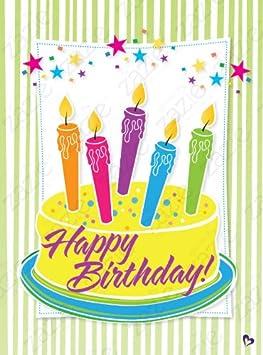 Zazie Oversized Birthday Card