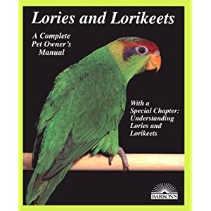 Lories and Lorikeets (Complete Pet Owner's Manuals) 12
