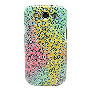 Conseguir Modelo colorido del estampado leopardo IMD duro caso Craft para Samsung Galaxy S3 I9300