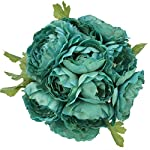 Turquoise-Silk-Ranunculus-Bouquet-Wedding-Party-Flowers-Arrangements-Gift
