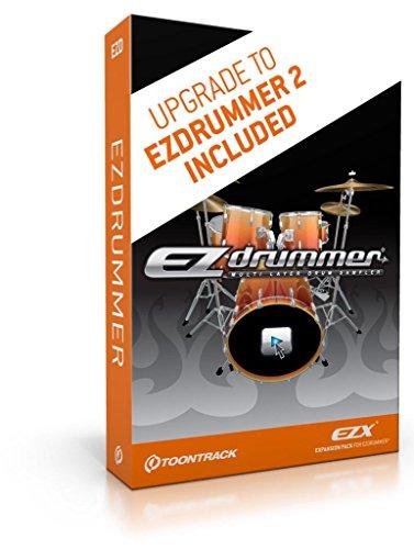 Toontrack EZDRUMMER batterij software
