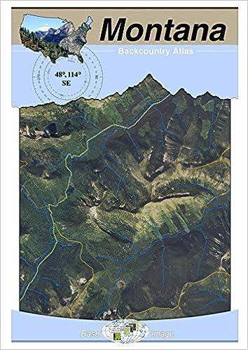 48114 SE - Kalispell, Montana Backcountry Atlas (Aerial