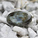 Labradorite Worry Stone for Reiki Crystal Healing