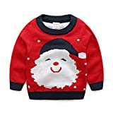Product review for ZEAMO Baby Long Sleeve Ugly Christmas Santa Claus Pullover Sweaters