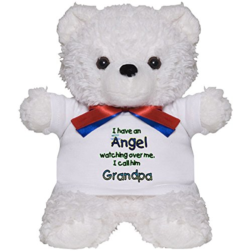 CafePress - I HAVE AN ANGEL GRANDPA.Png - Teddy Bear, Plush Stuffed (Personalized Angel Bear)