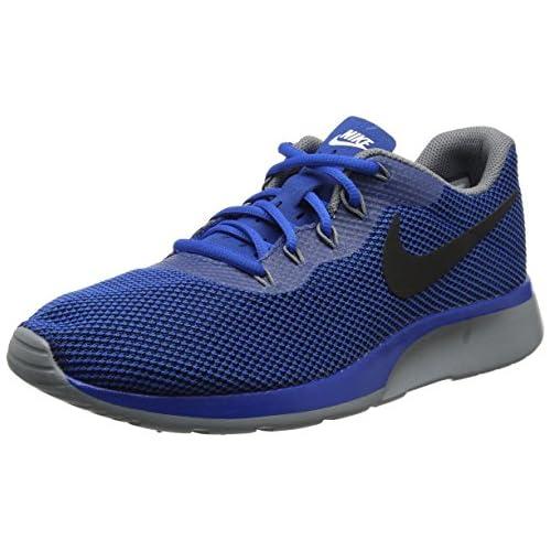 Nike Tanjun Racer Zapatillas de Gimnasia para Hombre Azul Blue Jay Black Wolf Grey 39 EU