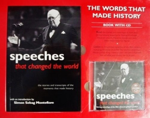 Speeches That Changed The World [Gift Box Set With Book + Audio CD] (The Last Speech Of Martin Luther King Jr)
