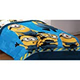 Despicable Me Comforter - Twin-full Minions Bedding