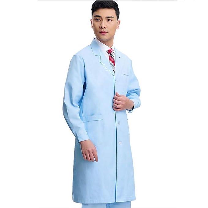 ESENHUANG Traje Médico Lab Coat Mujeres Hospital Medical Scrub Clothes Uniform Fashion Design: Amazon.es: Ropa y accesorios