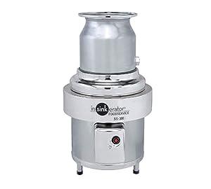 InsinkErator Commercial Series Garbage/Food Waste Disposer, 3 HP Motor -- 1 each.