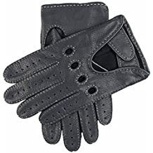 Navy Winchester Deerskin Leather Driving Gloves by Dents - Extra Large