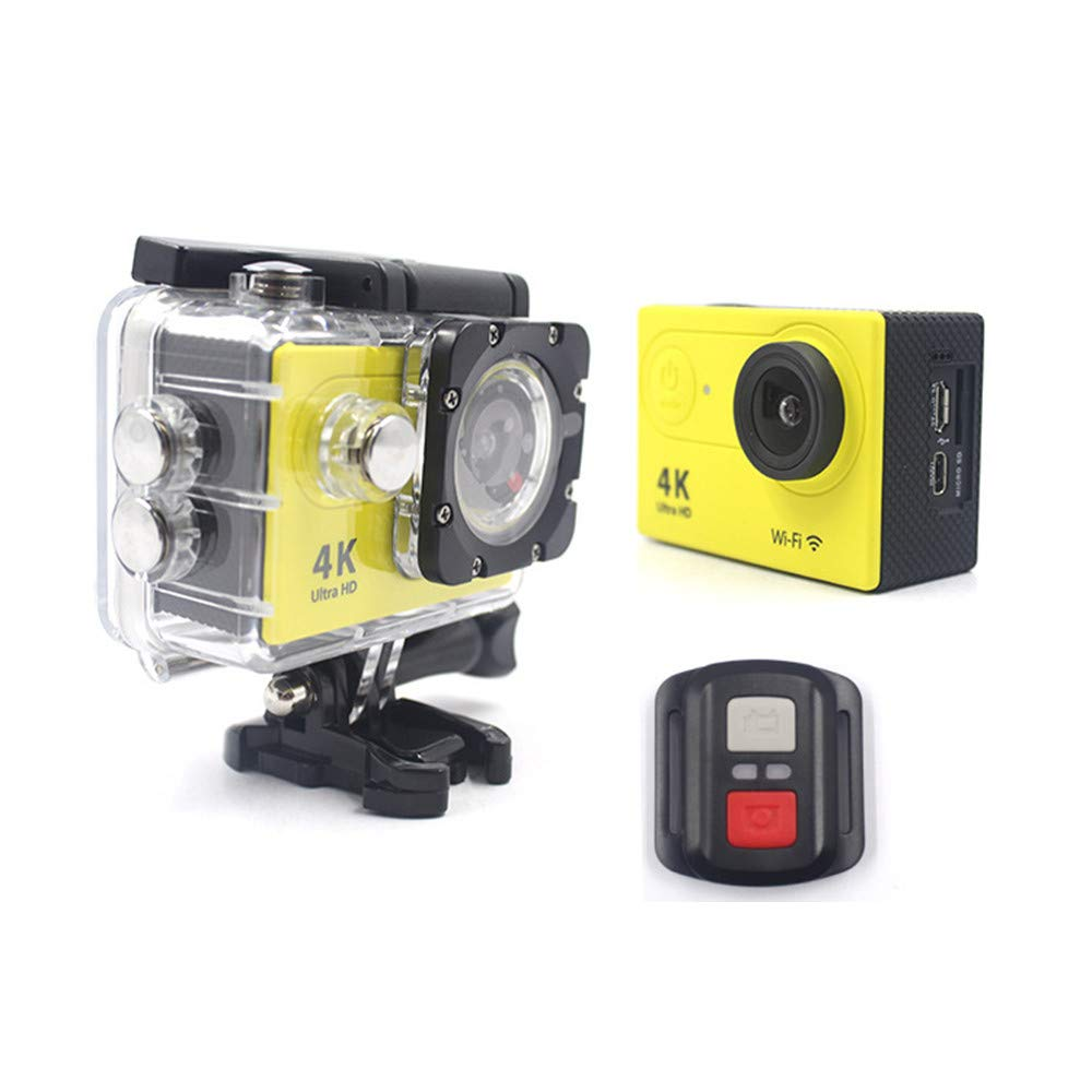 Ergou Action Camera 4kwifi Wasserdichte Sport Kamera HD Pixel Mini DV Digital Kamera, Reit Taucher-Outdoor-Kamera