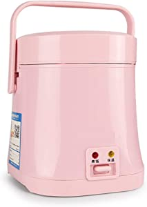 SL&DFB Mini Rice Cooker,1-2 People Cooking Rice Home Authentic Small Rice Cooker Electric Heating Rice Cooker Electric Pressure Cooker-Pink