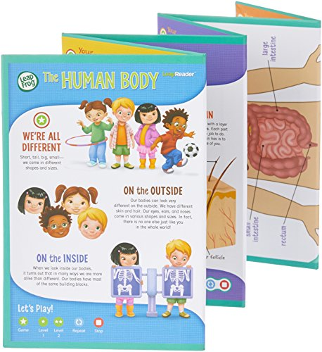 LeapFrog LeapReader Interactive Human Body Discovery Set (works with Tag) by LeapFrog (Image #4)