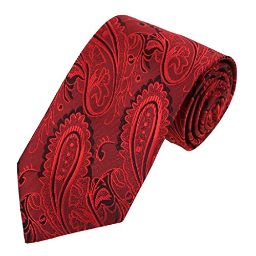 EAA1B03B Excellent Classic Designer Red Popular for Mens Microfiber Neckties Contemporary Fashion Halloween Gifts By - Popular Names Designer