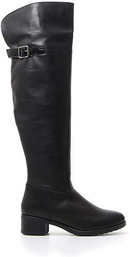 PITTARELLO Stivali Donna Nero in Pelle: Amazon.it: Scarpe e
