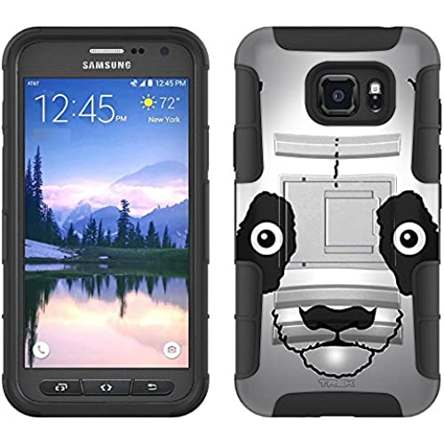 Samsung Galaxy S7 Active Armor Hybrid Case Panda 2 Piece Case with Holster for Samsung Galaxy S7 Active Sales