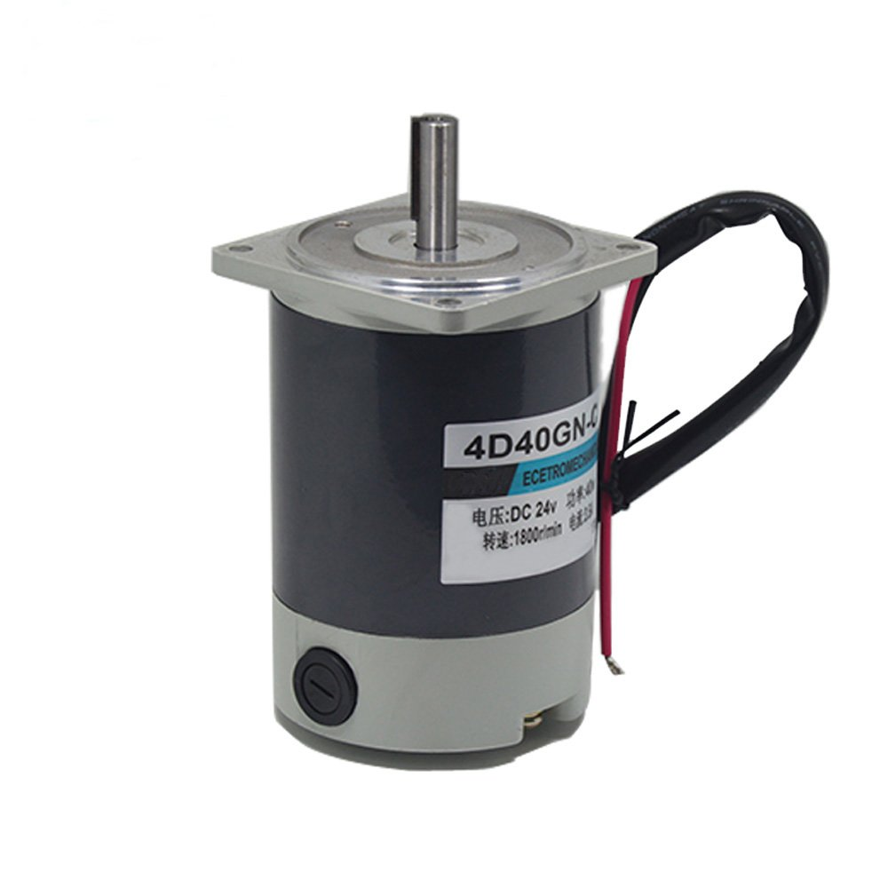 Bringsmart 4D40GN-C Permanent Magnet Motor DC 24V 1800rpm Reversed Adjust Speed 40W Home Machine