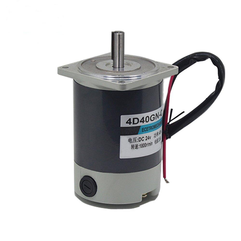 Bringsmart 4D40GN-C Permanent Magnet Motor DC 24V 1800rpm Reversed Adjust Speed 40W Home Machine