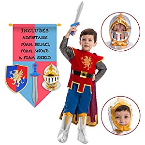 Spooktacular Creations Deluxe Knight Role Play Costume (Toddler)