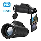 40x60 HD Phone Telescope Lens and 40x Magnification with Clip (Adjustable) and Cleaning Cloth