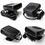 E-Bro 2 in 1 Car Portable Ceramic Heating Cooling Heater Fan Defroster Demister DC 12V